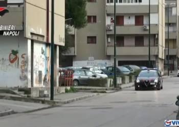 NAPOLI PONTICELLI, immediata risposta dei Carabinieri a bomba lanciata in via Esopo