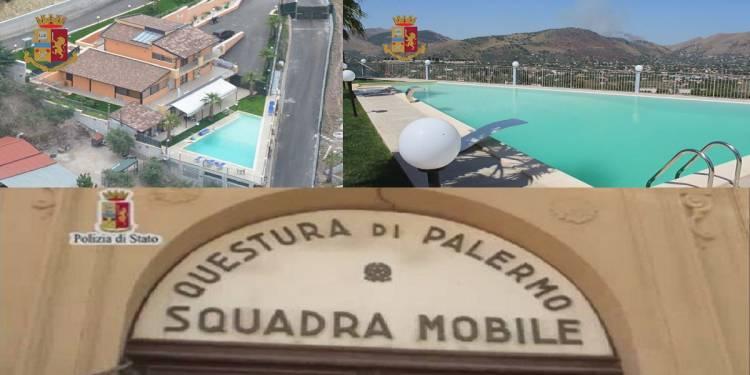 La Polizia di Stato di Palermo ha sequestrato un patrimonio ad un affiliato