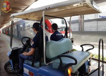 circa 110 agenti della Polizia ferroviaria della Sicilia