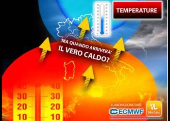 Quando arriverà il vero caldo per tutta l'Italia