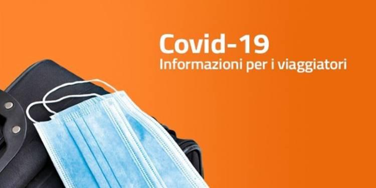 Regole anti Covid, zona per zona, per chi arriva in Italia