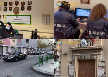 La GdF di Messina ha eseguito una Ordinanza di arresti domiciliari dell'ex sindaco di Tortorici