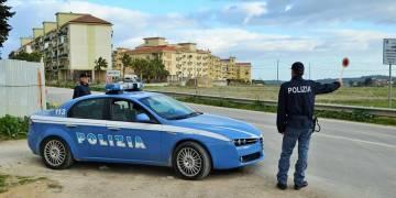Sequestrate dalla Polizia Stradale di Canicattì