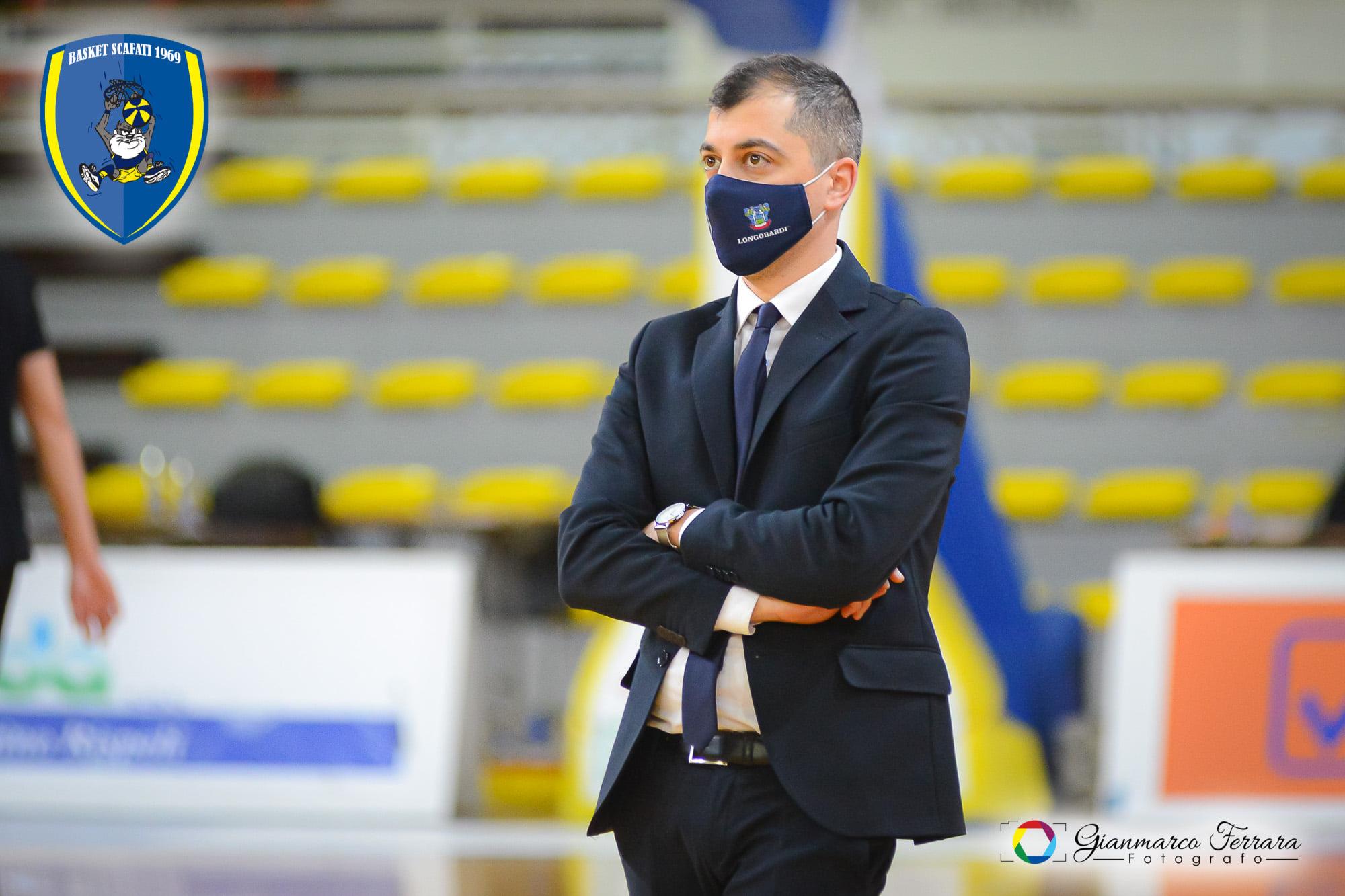 Umberto Di Martino, assistant coach Givova Scafati