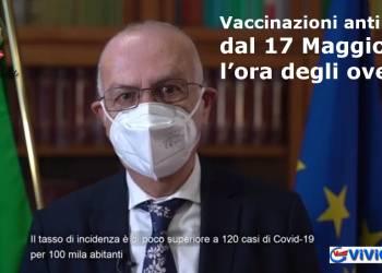 Vaccinazioni anti Covid, dal 17 Maggio sarà l'ora degli over 40