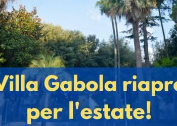 Villa Gabola riapre per l'estate