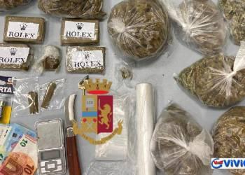 Ercolano: Polizia arresta 25enne ercolanese per spaccio di stupefacenti