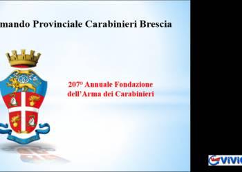 207mo annuale di fondazione dell'Arma dei Carabinieri