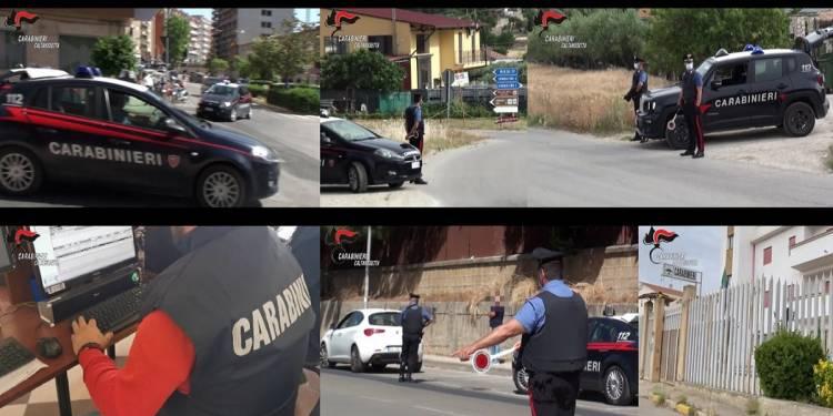 I CC della Compagnia di Caltanissetta hanno arrestato 4 italiani ed un egiziano