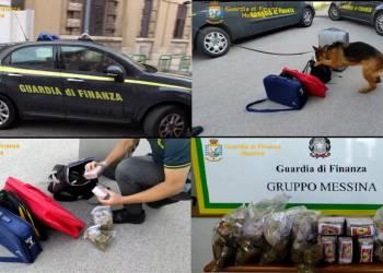 Arrestato, proveniente in pullman dal Nord-Italia, dalla GdF di Messina