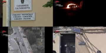 Arrestato dai CC di Caltanissetta l'autore di un attentato incendiario ad auto e casa di un avvocato