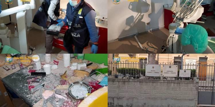La GdF di Milazzo (ME) ha denunciato e sanzionato un falso dentista