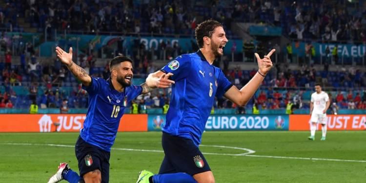 Locatelli Italia Euro 2020 Svizzera