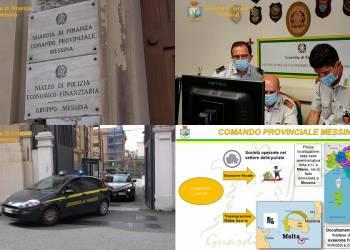 La GdF di Messina ha sequestrato rapporti bancari, quote societarie