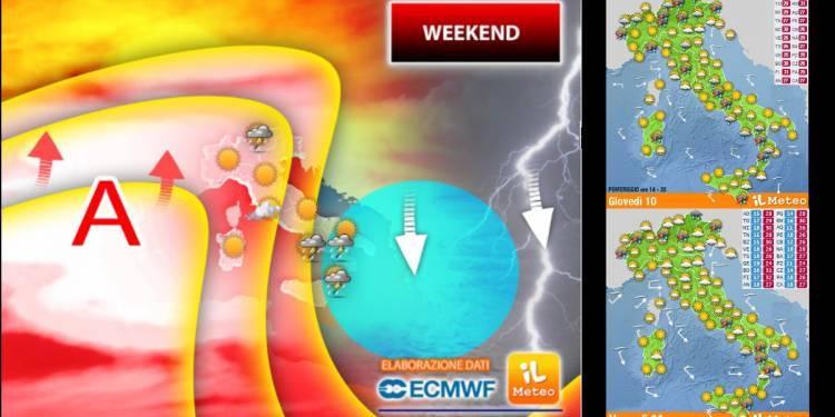 Meteo Weekend, l'anticiclone Africano invade l'italia