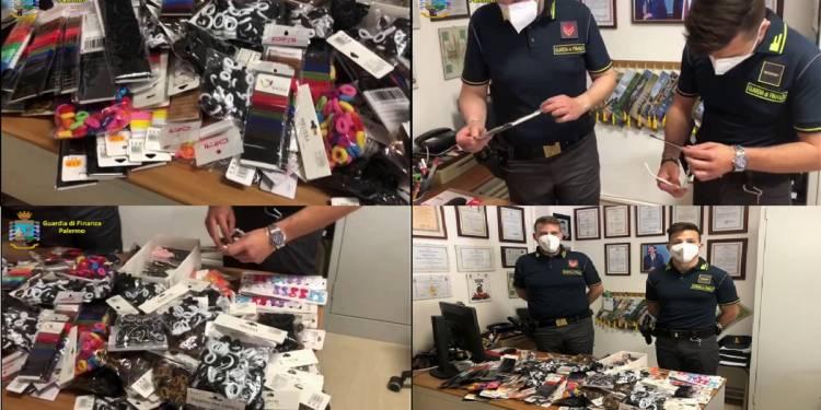 sequestrato in un emporio gestito da un cinese oltre 12.000 accessori non sicuri