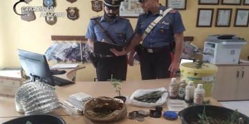 Arrestati dai CC della Stazione di Bolognetta (PA) per la piantagione di stupefacenti indoor
