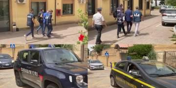 8 fermi eseguiti dai CC, GdF e Dia di Agrigento. Tra i politici indagato il Presidente dell'Ars