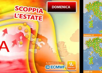 Previsioni Meteo Arriva l'Anticiclone Africano