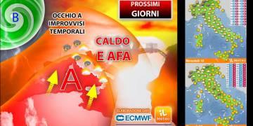 Tanto sole e temperature in ulteriore aumento