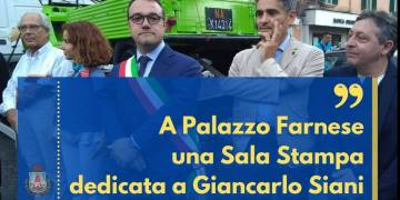 A Palazzo Farnese una Sala Stampa dedicata a Giancarlo Siani