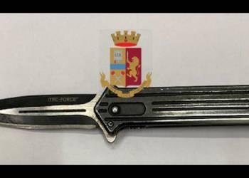 Napoli: denunciato 64enne per porto d'armi atti ad offendere