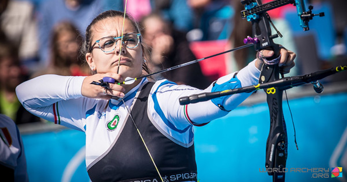 Olimpiadi Tiro con l'arco,, Chiara Rebagliati, Olimpiadi di Tokio ( foto world archery - Autore Dean Alberga DUTCHTARGET)