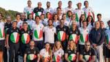 L'Italia del Canottaggio a Tokyo (foto dalla Federazione)
