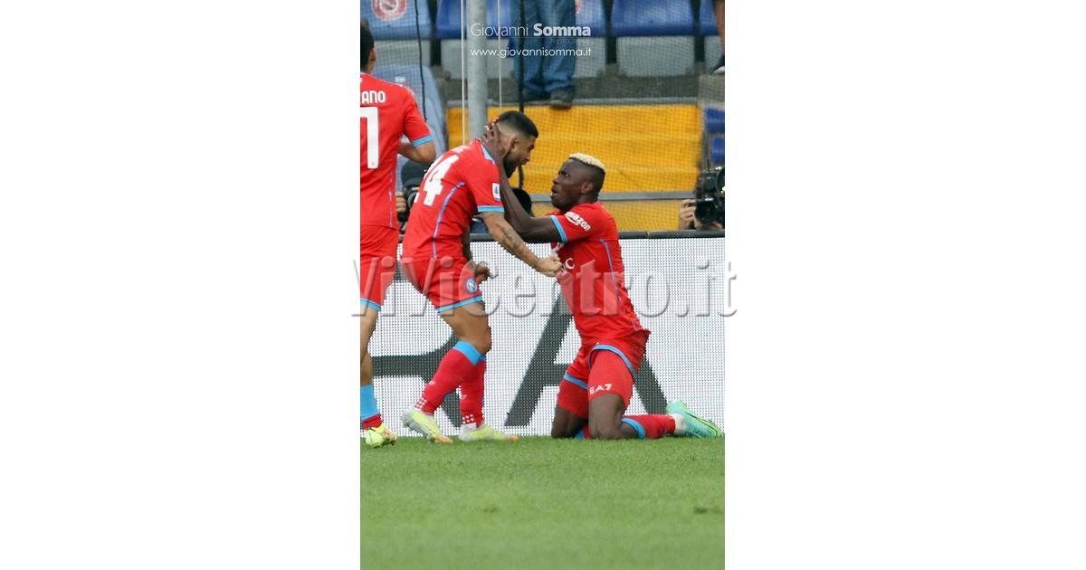 Sampdoria - Napoli serie A 2021-2022 Calcio