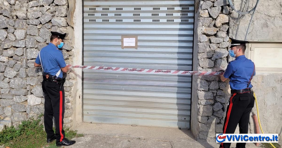 Agerola, Carabinieri sequestrano immobili abusivi, 5 denunce