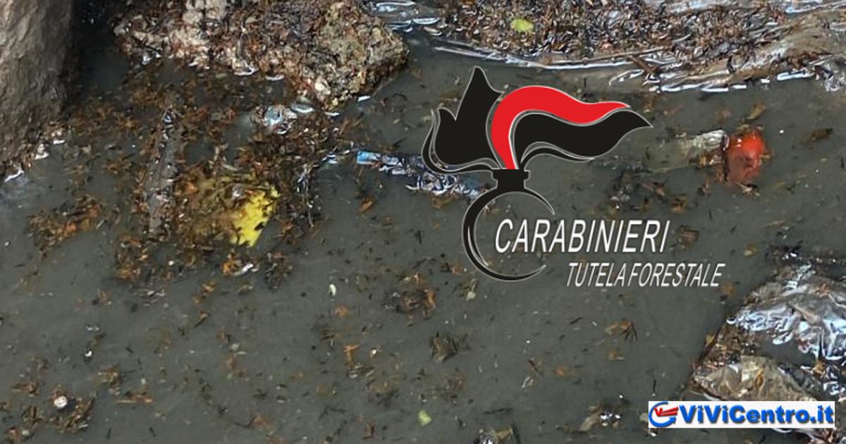 Controlli dei Carabinieri, Lotta all'inquinamento Fiume Sarno