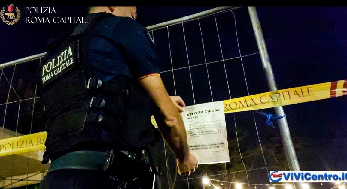 Festa abusiva ai Parioli piu di mille persone senza protezioni
