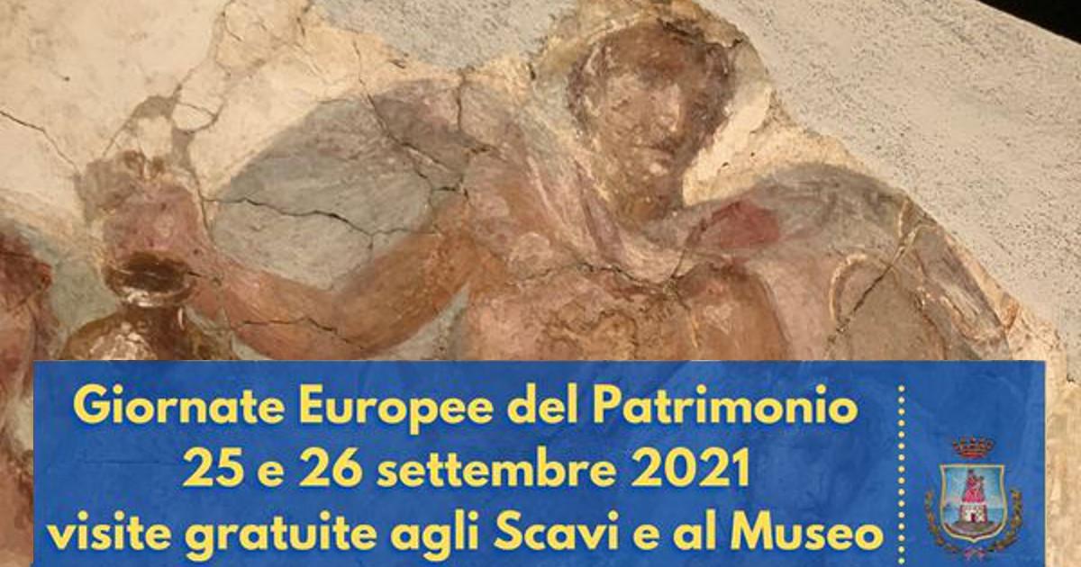 Giornate europee del patrimonio a Stabia