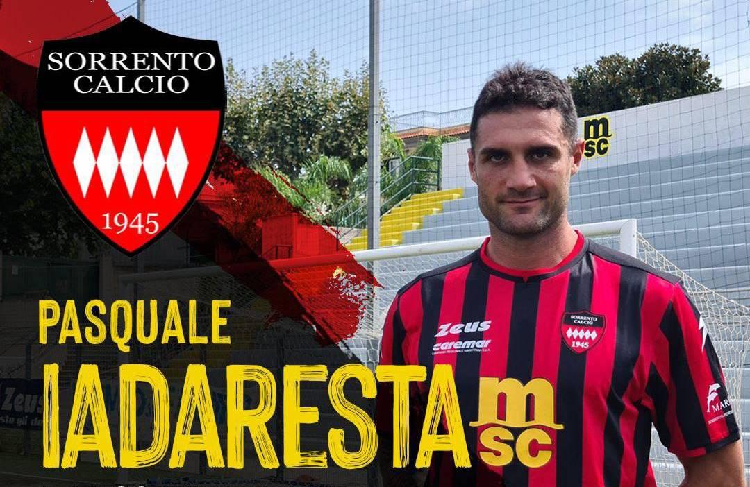 Pasquale Iadaresta è un nuovo tesserato del Sorrento Calcio