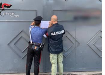 Sequestrata dai CC di Villafrati (PA) officina in un capannone di circa 400 mq