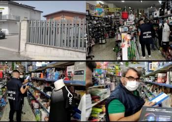 Sequestrati dalla GdF di Partinico (PA) durante dei controlli presso un esercizio commerciale