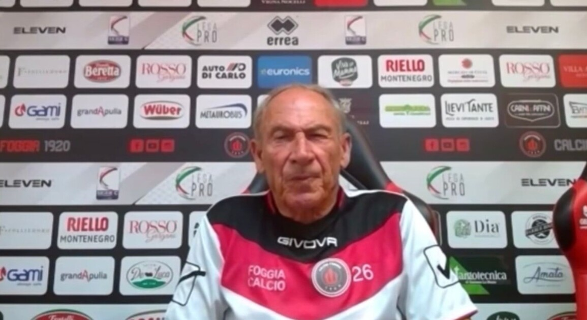 Zeman Foggia Juve Stabia