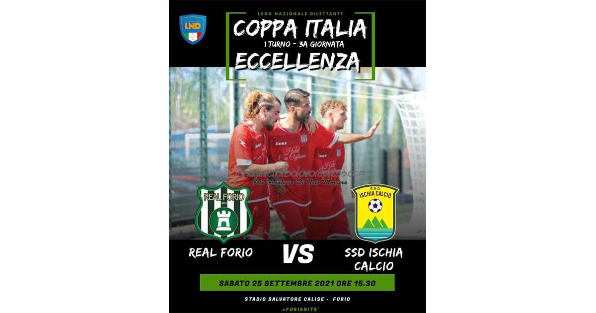 Coppa Italia- Ischia per la conferma. Real Forio alla ricerca del riscatto