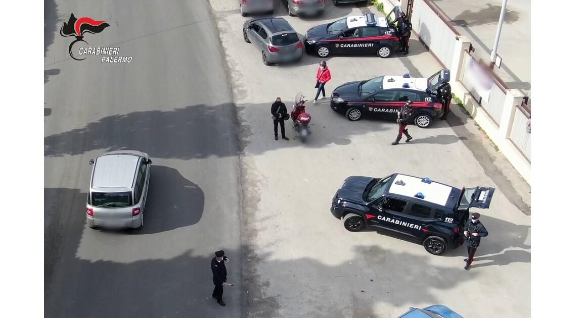 15 misure dei CC di Palermo per spaccio, evasione domiciliari, guida alcolemica