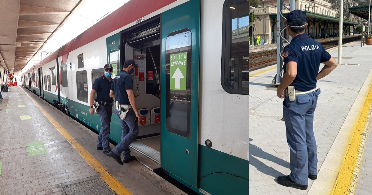 6 arrestati, 3 indagati e oltre 2.400 persone controllate 34 treni presenziati, 54 veicoli ispezionati