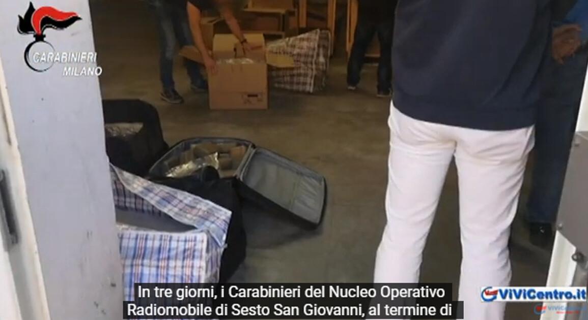 Carabinieri di Sesto San Giovanni, sgominati 2 laboratori della droga