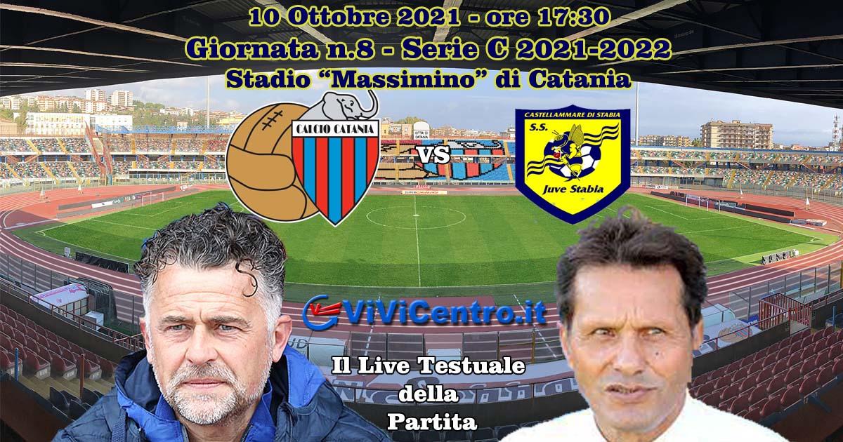 Catania Juve Stabia LIVE