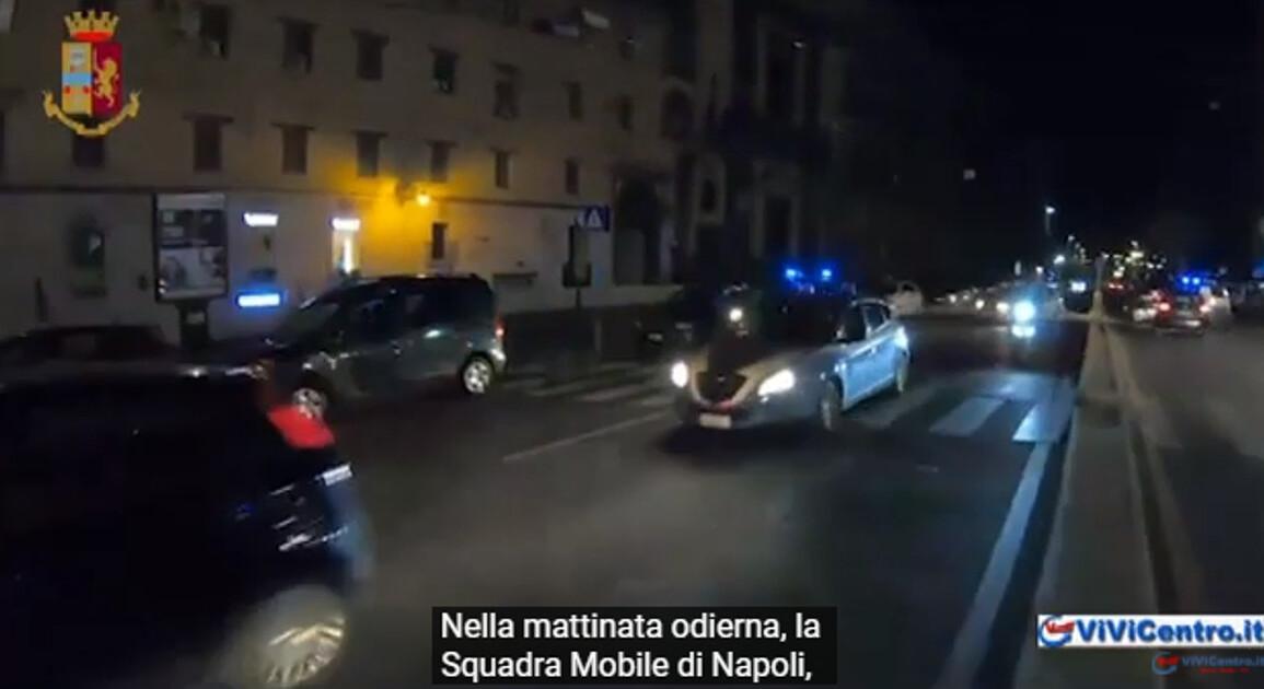 Napoli, sgominate 2 bande, spaccio stupefacenti e rapina Rolex, 10 arresti