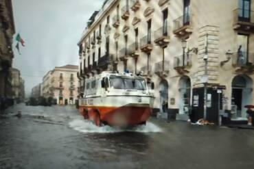 Catania allagata