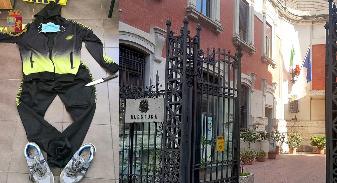 La Polizia di Stato di Messina ha arrestato un 45enne, con precedenti, per rapina