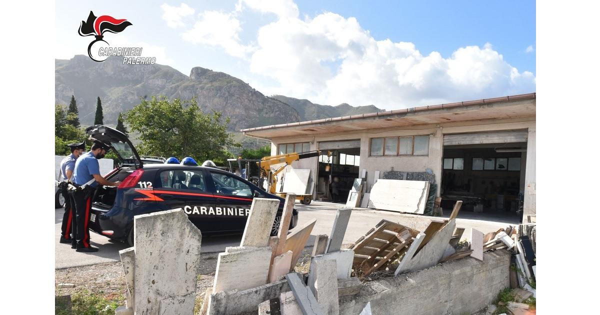 Sequestrati dai CC di Palermo dopo condanna in primo e secondo grado