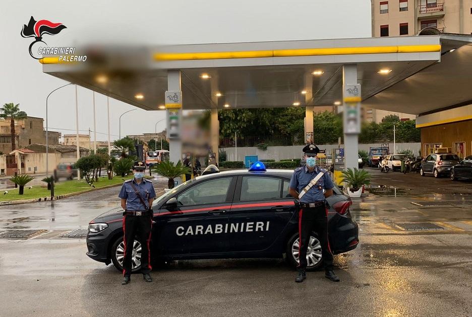 Arrestati dai CC di Palermo per tentata rapina