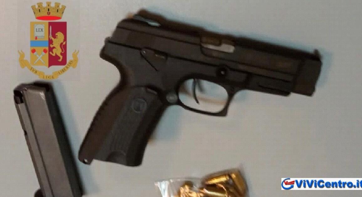 arresto per possesso di arma da fuoco
